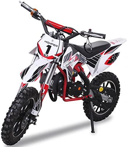 Kinder Mini Crossbike Gazelle Dirt Bike Pocket Cross rot/weiß