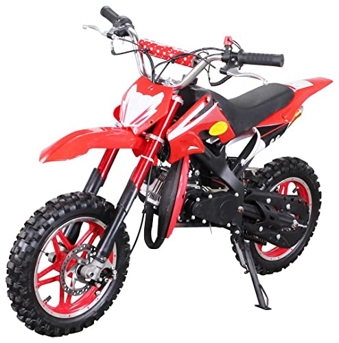 Kinder Mini Crossbike Delta 49 cc 2-takt Dirt Bike Dirtbike Pocket Cross rot